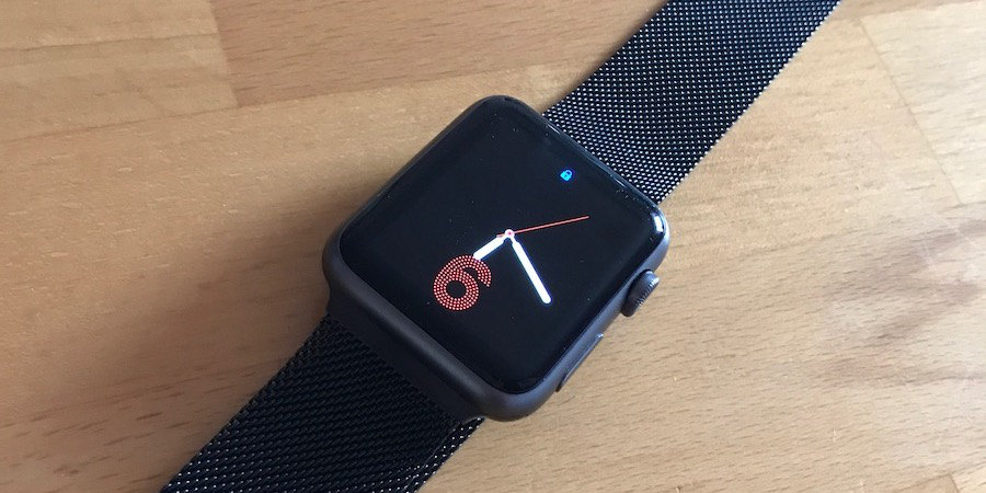 Apple Watch Arktis Milanaise Titel