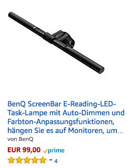 BenQ ScreenBar Preis