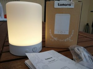 Beleuchtung warm Tomons DL1101