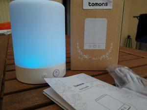 Beleuchtung blau Tomons DL1101