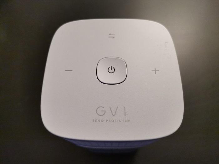 BenQ GV1 Buttons