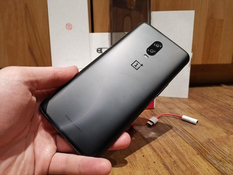 OnePlus 6T Rückseite