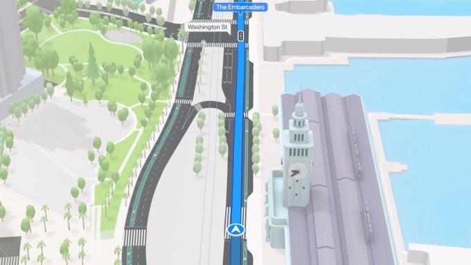 Apple 3D Navigation