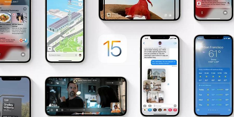 iOS 15 Titelbild