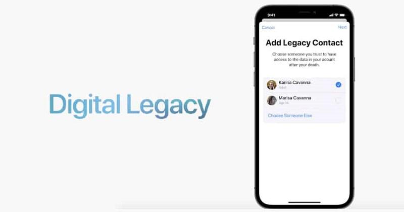 Digitaler Nachlass Apple