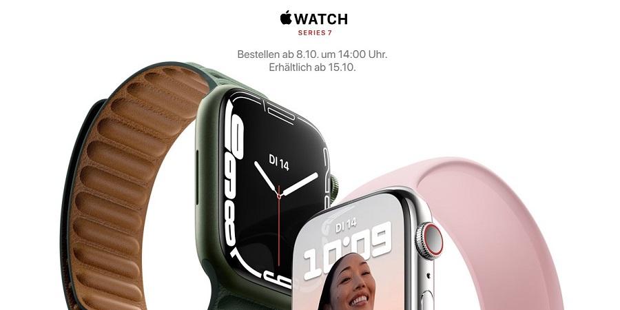 Apple Watch Series 7 Titelbild