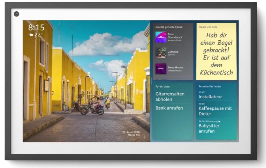 Amazon Echo Show 15 Gerät
